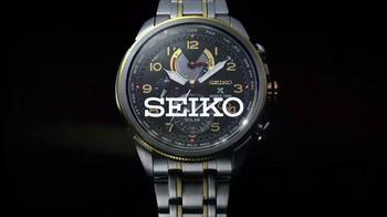 Seiko Prospex World Time Solar Chronograph TV Spot, 'Up to the Minute' - Thumbnail 6