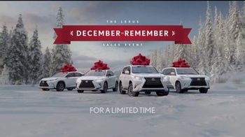 Lexus December to Remember Sales Event TV Spot, 'Forgery' - Thumbnail 6