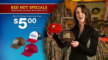 Bass Pro Shops 5 Day Sale TV Spot, 'Americana Caps & Fishing Gear' - 18 commercial airings