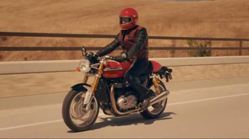 GEICO Motorcycle TV Spot, 'Vintage Sign' Song by Strange Weather - Thumbnail 2