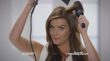 Conair Infinti Pro 3Q TV Spot, 'No Frizz' - 199 commercial airings