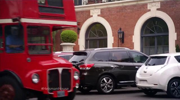 Nissan TV Spot, 'Heisman House: Tour Bus' Ft. Jim Plunkett, Herschel Walker - Thumbnail 2