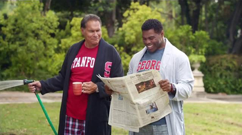 Nissan TV Spot, 'Heisman House: Tour Bus' Ft. Jim Plunkett, Herschel Walker - Thumbnail 5