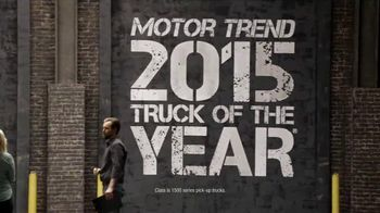 Chevy Truck Month TV Spot, 'Garage Reveal' - 472 commercial airings