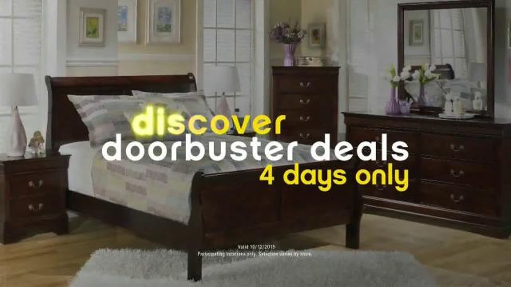 Ashley Furniture Homestore Columbus Day Sale TV Commercial, U0027Doorbuster  Dealsu0027   ISpot.tv
