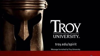 Troy University TV Spot, 'Trojan Warrior Spirit' - Thumbnail 7