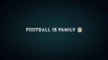 NFL TV Spot, 'Football is Family' Featuring Brandon Marshall - Thumbnail 6