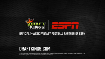 DraftKings One-Week Fantasy Football TV Spot, 'Meh' Featuring Matthew Berry - Thumbnail 9