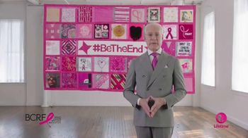 Lifetime Channel TV Spot, 'Breast Cancer Research Foundation' Ft. Tim Gunn - 394 commercial airings