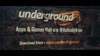Amazon Underground TV Spot, 'Welcome to Amazon Underground' - Thumbnail 7