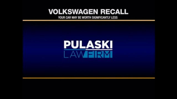 Pulaski & Middleman TV Spot, 'Volkswagen Recall' - Thumbnail 1