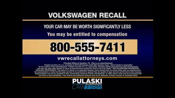 Pulaski & Middleman TV Spot, 'Volkswagen Recall' - Thumbnail 5