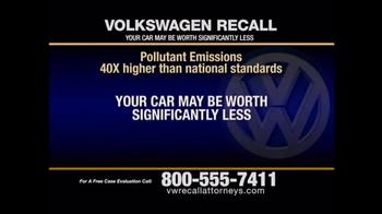 Pulaski & Middleman TV Spot, 'Volkswagen Recall' - Thumbnail 4