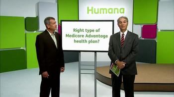 Humana Medicare Advantage Plan TV Spot, 'Right Type' - Thumbnail 1