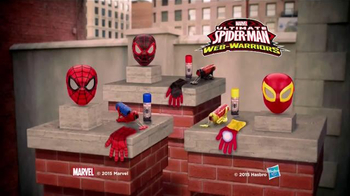 Ultimate Spider-Man Web-Warriors Color Shock Slingers TV Spot, 'Rooftop' - Thumbnail 6