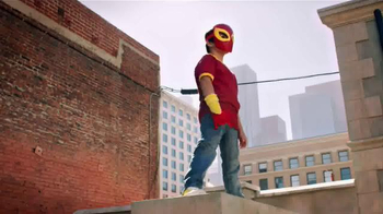 Ultimate Spider-Man Web-Warriors Color Shock Slingers TV Spot, 'Rooftop' - Thumbnail 3