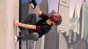 Ultimate Spider-Man Web-Warriors Color Shock Slingers TV Spot, 'Rooftop' - Thumbnail 4