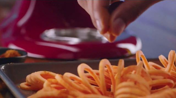 Kitchen Aid Spiralizer TV Spot, 'Any Night' Song by Salme Dahlstrom - Thumbnail 7