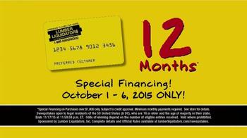 Lumber Liquidators TV Spot, '2015 Fall Flooring Season: This Week's Deals' - Thumbnail 8