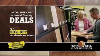 Lumber Liquidators TV Spot, '2015 Fall Flooring Season: This Week's Deals' - Thumbnail 2
