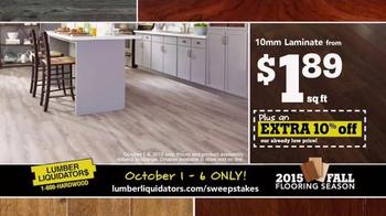 Lumber Liquidators TV Spot, '2015 Fall Flooring Season: This Week's Deals' - Thumbnail 3