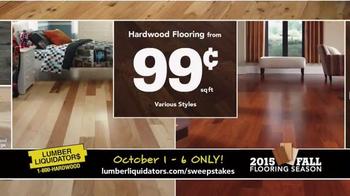Lumber Liquidators TV Spot, '2015 Fall Flooring Season: This Week's Deals' - Thumbnail 5