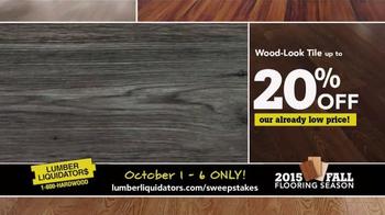 Lumber Liquidators TV Spot, '2015 Fall Flooring Season: This Week's Deals' - Thumbnail 6