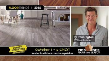Lumber Liquidators TV Spot, '2015 Fall Flooring Season: This Week's Deals' - Thumbnail 7