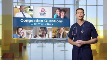 Simply Saline TV Spot, 'Congestion Questions: Laura' Ft. Travis Stork - Thumbnail 1