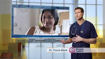 Simply Saline TV Spot, 'Congestion Questions: Laura' Ft. Travis Stork - Thumbnail 2