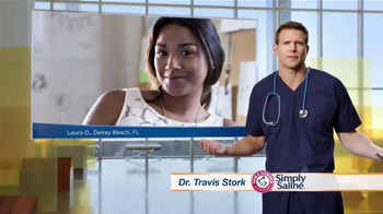 Simply Saline TV Spot, 'Congestion Questions: Laura' Ft. Travis Stork - Thumbnail 4