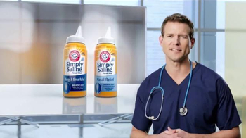 Simply Saline TV Spot, 'Congestion Questions: Laura' Ft. Travis Stork - Thumbnail 5