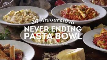 Olive Garden Never Ending Pasta Bowl TV Spot, 'Aniversario' [Spanish] - Thumbnail 1