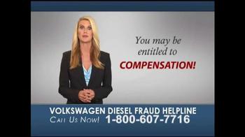 Heygood, Orr and Pearson TV Spot, 'Volkswagen Diesel Fraud Helpline'