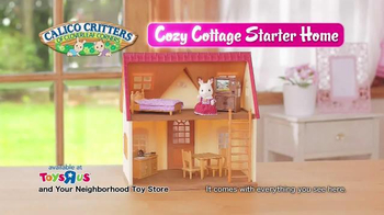 Calico Critters Cozy Cottage Starter Home TV Spot, 'Bell's Cottage' - Thumbnail 9