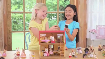Calico Critters Cozy Cottage Starter Home TV Spot, 'Bell's Cottage' - Thumbnail 8