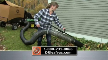 DR Power Equipment Leaf and Lawn Vacuum TV Spot, 'Year-Round Fall' - Thumbnail 2