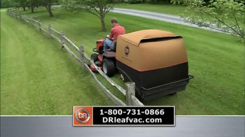 DR Power Equipment Leaf and Lawn Vacuum TV Spot, 'Year-Round Fall' - Thumbnail 3