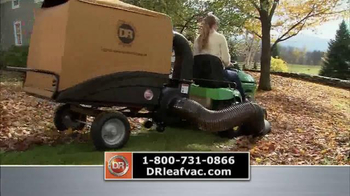 DR Power Equipment Leaf and Lawn Vacuum TV Spot, 'Year-Round Fall' - Thumbnail 4