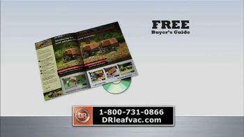 DR Power Equipment Leaf and Lawn Vacuum TV Spot, 'Year-Round Fall' - Thumbnail 7