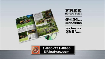 DR Power Equipment Leaf and Lawn Vacuum TV Spot, 'Year-Round Fall' - Thumbnail 8