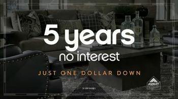 Ashley Furniture Homestore Columbus Day Sale TV Spot, 'One Dollar Down' - Thumbnail 2
