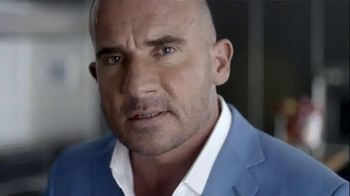 Yoplait Greek 100 TV Spot, 'Satiety' Featuring Dominic Purcell - Thumbnail 1