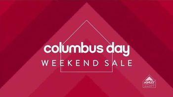 Ashley Furniture Homestore Columbus Day Sale TV Spot, 'Weekend Savings' - 4 commercial airings