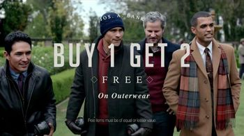 JoS. A. Bank TV Spot, 'Warm Up to Big Savings' - 242 commercial airings
