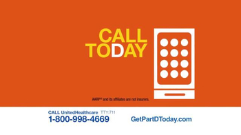 UnitedHealthcare TV Spot, 'AARP MedicareRx Plans' - Thumbnail 4