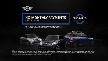 MINI USA Zero For '15 Mini Sales Event TV Spot, 'Fit More Friends' - Thumbnail 5