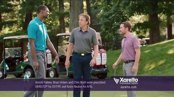 Xarelto TV Spot, 'Game Plan' Feat. Chris Bosh, Arnold Palmer, Brian Vickers - Thumbnail 2