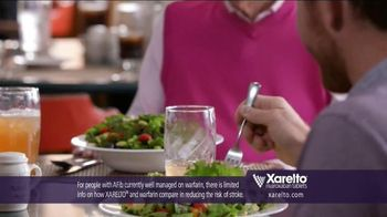 Xarelto TV Spot, 'Game Plan' Feat. Chris Bosh, Arnold Palmer, Brian Vickers - Thumbnail 4