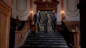 JoS. A. Bank Columbus Day Sale TV Spot, 'Wardrobe Change: Buy 1 Get 2 Free' - Thumbnail 1